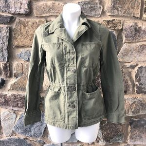 Madewell Green Field Jacket size small